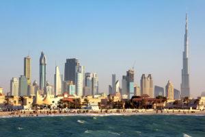 Даунтаун Дубай и знаменитая Бурдж-Халифа, ОАЭ
