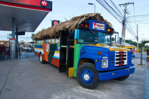 Автобус в Доминиканской Республике