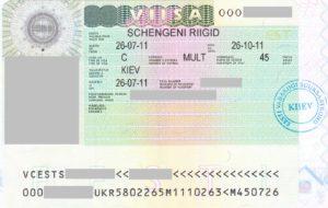 Рабочая виза в Эстонию