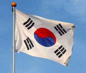 Государственный флаг Республики Корея