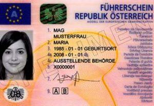 Удостоверение личности в Австрии
