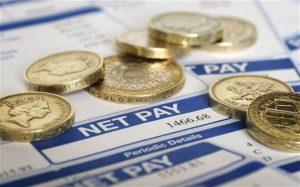 Статистика зарплат в Англии
