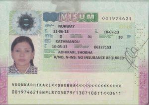Виза категории D (Рабочая национальная виза)