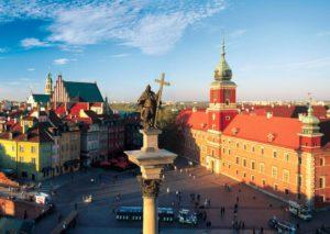 Варшава, столица Польши
