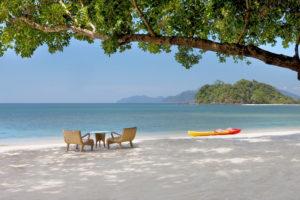 Остров Лангкави - один из самых живописных и красивых пляжей.