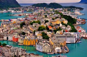 Олесунн, Норвегия (туристический центр)