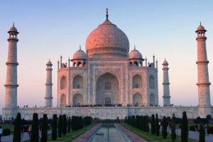 Прекрасный отдых в Индии, Тадж-Махал.