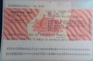 Студенческая австралийская виза