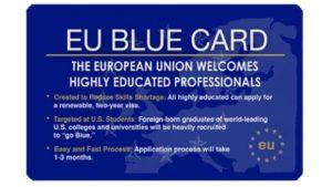 Как получить Голубую карту ЕС