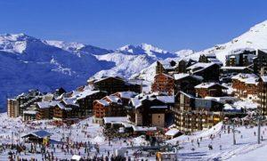 Один из горнолыжных курортов Австрии