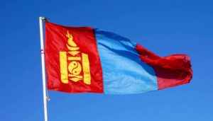 Государственный флаг Монголии