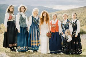 Традиционная норвежская свадьба