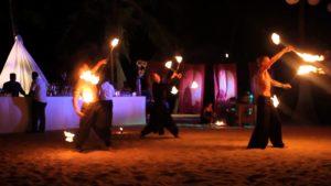 Огненное шоу на Гоа