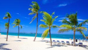 Белоснежные пляжи Багамских островов