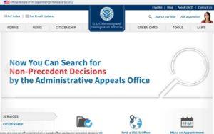 Официальный сайт Службы гражданства и иммиграции США www.uscis.gov