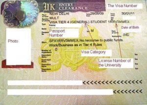 Студенческая виза с разрешением на работу (до 20 часов в неделю)