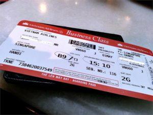 Билет на самолет во Вьетнам
