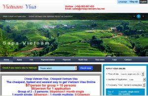 www.cheapvietnamvisa.net - один из наиболее популярных и недорогих сайтов для оформления вьетнамского Approval Letter