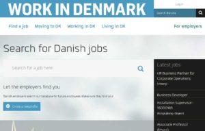 Поиск работы в Дании на сайте workindenmark.dk