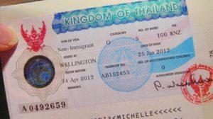 """Виза """"О"""" - для тек, кто планирует задержаться более одного месяца в Таиланде."""