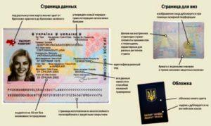 Биометрический паспорт в Украине.