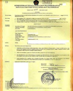Разрешение на работу в Индонезии (довольно дорогостоящий документ - называется IMTA).