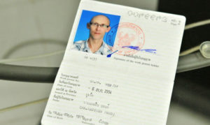 "Разрешение на работу ""work permit"" в Таиланде."