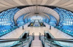 Аэропорт в Бангкоке.