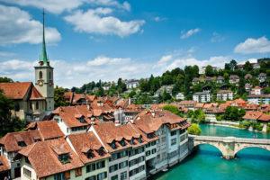 Берн, столица Швейцарии.