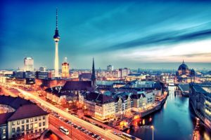 Берлин, столица Германии.