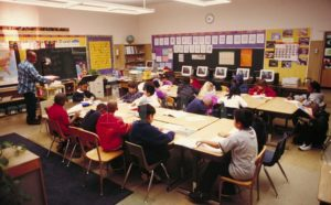 Урок в американской начальной школе (Elementary or Primary School)