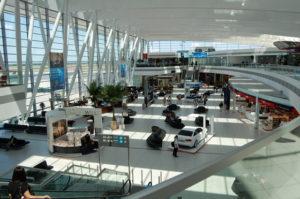 Терминал международного аэропорта Будапешта