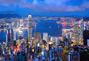 Панорамный вид на Гонконг
