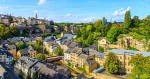 Город Люксембург - столица государства