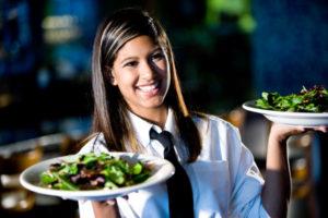 Должность официанта в Калифорнии