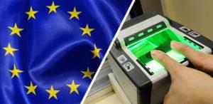 Сканирование отпечатков пальцев обязательно для посещения Шенгена