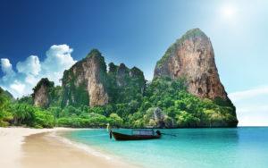 Один из пляжей Таиланда