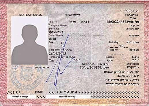 въездная виза