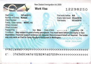 Рабочая виза в Новую Зеландию (Work Visa)