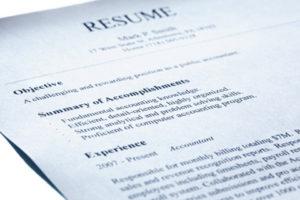Резюме - важный этап поиска рабочего места