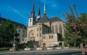 Знаменитый Собор Люксембургской Богоматери