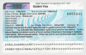 Студенческая виза в Новую Зеландию (Student Visa)