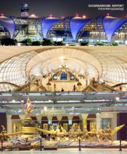 Новый международный аэропорт Бангкока Суварнабхуми