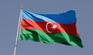 Государственный флаг Азербайджана