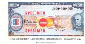 Так выглядят дорожные чеки для Еврозоны