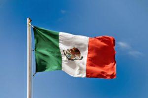 Государственный флаг Мексики