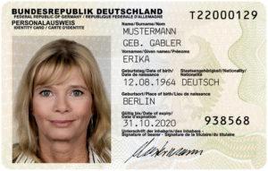 Айди-карта гражданина Германии