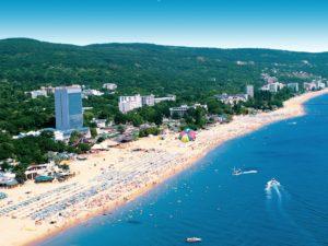 Болгарский курорт Золотые Пески