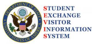 SEVIS - интеренет система в которую вносятся миграционной службой США данные всех нерезидентов, а также студентов по обмену.