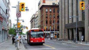 Оттава: Лорье-авеню Бэнк-стрит